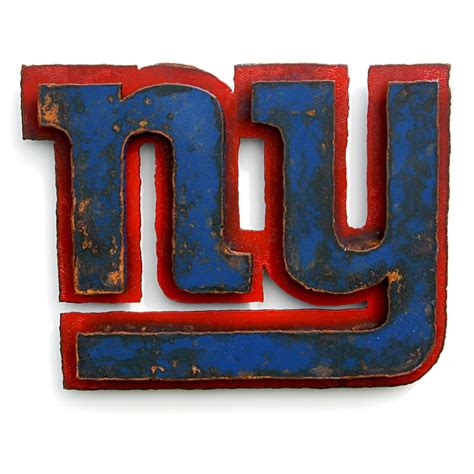 ny giants wall decor new york giants 3d wall 20 quot wide metal emblem logo