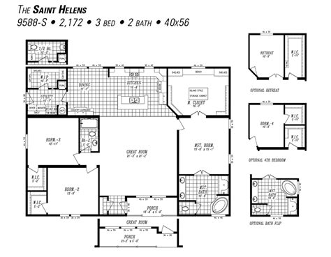 marlette homes floor plans the saint helens by marlette hermiston