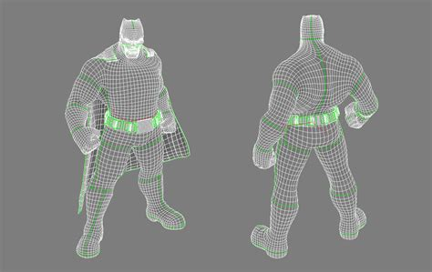 Uv Layout Definition | the making of the dark knight