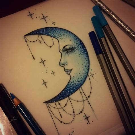 blue moon tattoo best 25 blue moon ideas on blue moom blue