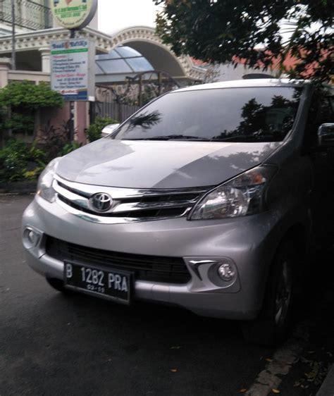 Mobil Toyota Avanza Silver toyota avanza 2014 silver type g mt 1 3 mobilbekas