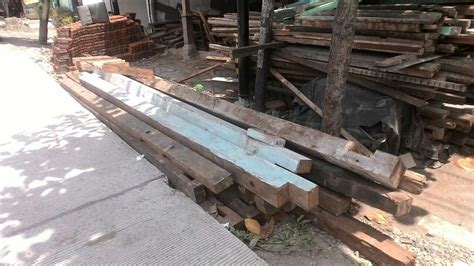 Ranjang Kayu Jati Bekas mebel kayu jati bekas recycle model minimalis yang ramah