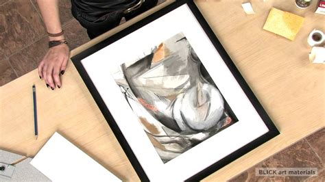 how to frame a print tips on framing your artwork youtube