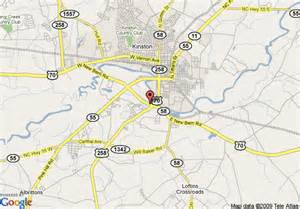 map of quality inn kinston kinston