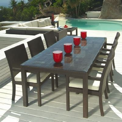 Patio Furniture Sets Table Wish I Can Live There Beautiful Wicker Dining Sets