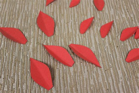 How To Make Paper Petals - how to make paper poinsettias petal talk