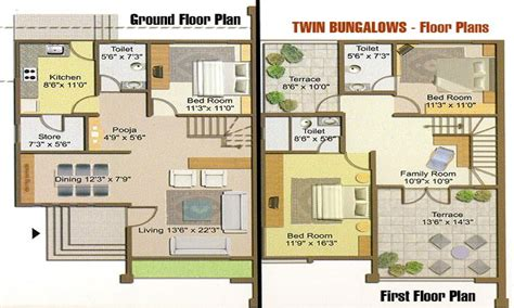 large bungalow floor plans twin bungalow floor plan craftsman bungalow house plans