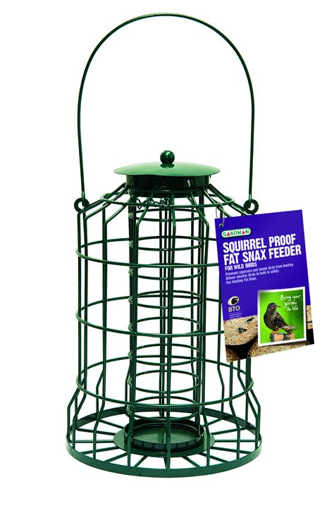 gardman garden wild birds feeders cage design squirrel
