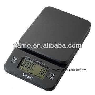 Tiamo Digital Scale With Timer Timbangan Kopi Digital Max 2kg tiamo professional weighing scale with timer hk0513gy rd buy digital weighing scales electric
