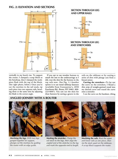 Bar Stool Woodworking Plans by Bar Stools Plans Pdf Woodworking
