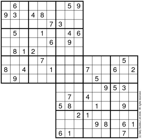 printable squiggly sudoku the daily sudoku