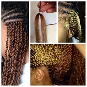Braiding hair for senegalese twists