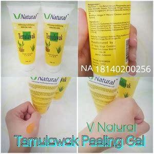 Stok Ready Sabun Pemutih Vnatural Whitening Soap Temulawak vnatural whitening exfoliating serum gel temulawak beetrisshop