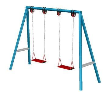 free online swinging playground swing clipart