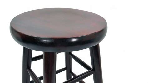 4 Wooden Bar Stools by Wooden Bar Stool