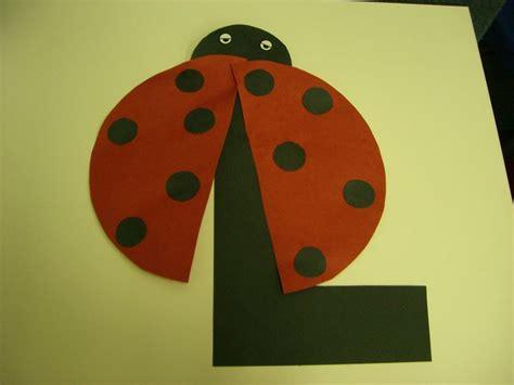 l is for ladybug preschool alphabet craft alphabet