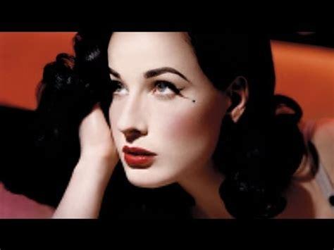 tutorial eyeliner pin up dita von teese pinup makeup tutorial youtube
