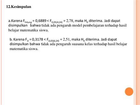 Analisis Data Penelitian Dengan Statistik Iqbal Hasan power point statistik anava