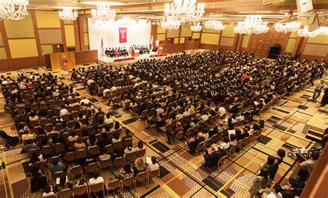 Temple Mba Japan by Temple Japan Cus 2017 Commencement News
