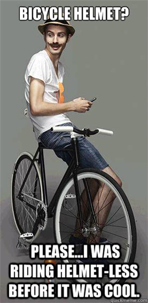 Bicycle Meme - bicycle helmet please i was riding helmet less before