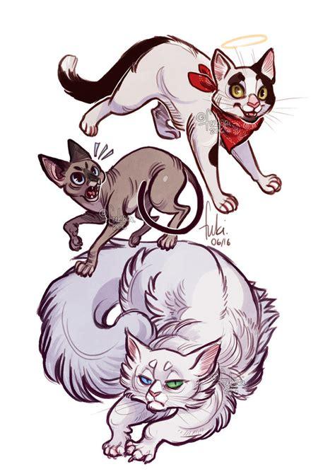 Sty Cat Drawings