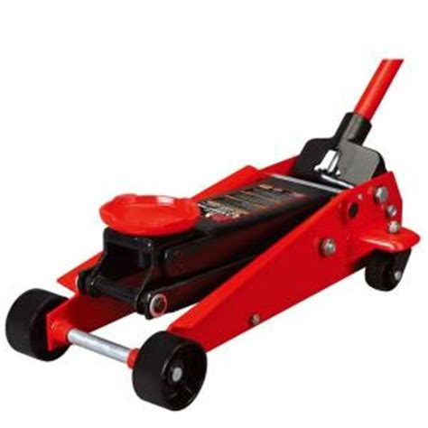 big red 3 ton steel floor jack t83002 the home depot
