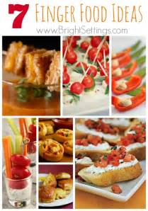 Finger food ideas for your next party