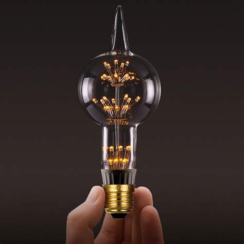 Led Edison Light Bulbs Edison Fireworks Led Bulbs The Awesomer
