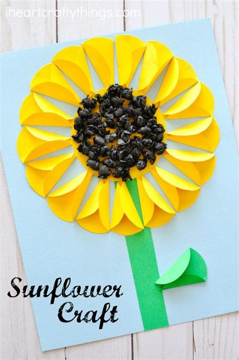 sunflower crafts for best 25 sunflower crafts ideas on