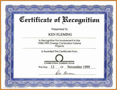 5 certificates of achievement wording driver resume