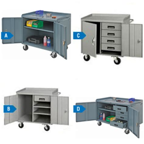 service bench com mobile service benches carts at globalindustrial com
