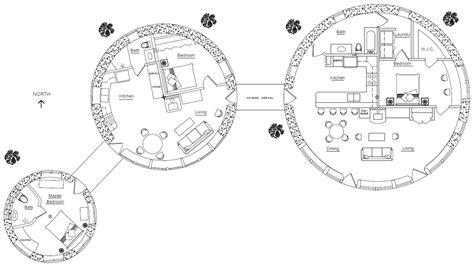 Yurt Interior Floor Plans round house earthbag house plans