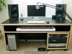 kk audio customizable keyboard desk studio desks