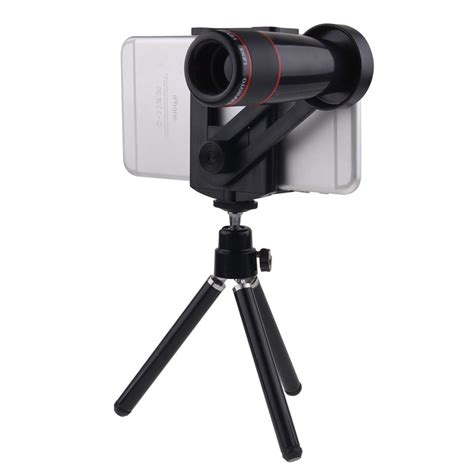 Tripod Zoom universal 12x zoom telephoto telescope lens tripod for various phones ebay