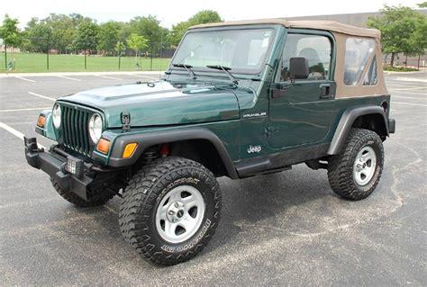 1999 jeep wrangler 1999 jeep wrangler tj se sport utility suv 4x4 119k