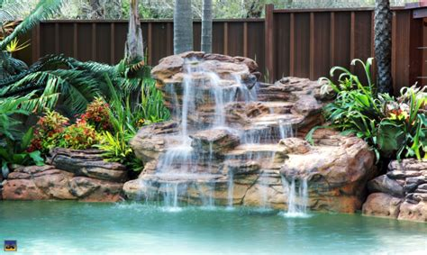 pool waterfalls pool waterfalls pool waterfall for swimming pools
