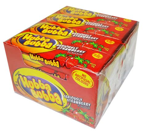 How Big Is The And Other Gum Questions by Hubba Bubba Soft Gum Strawberry And Other