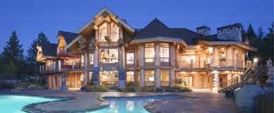 Large custom log home floor plans 4500 sq ft bc