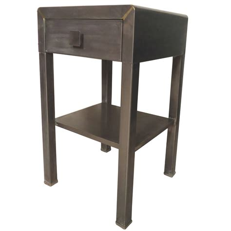 Industrial Style Table Ls by Side Table By Simmons With Industrial Style Finish For