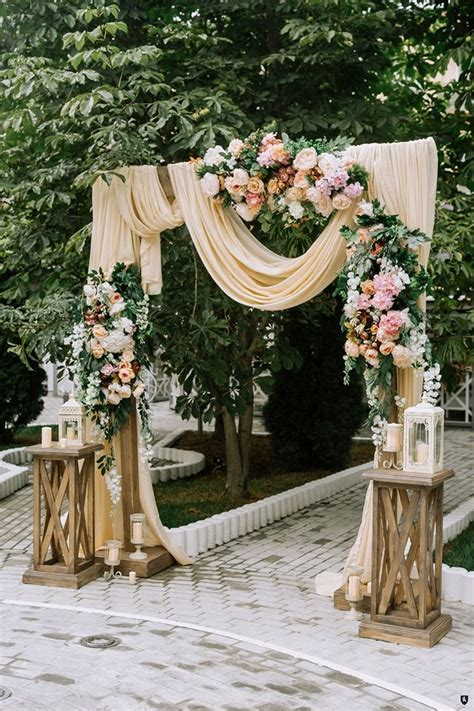 25 inspirational wedding ceremony arbor arch ideas for my special day someday