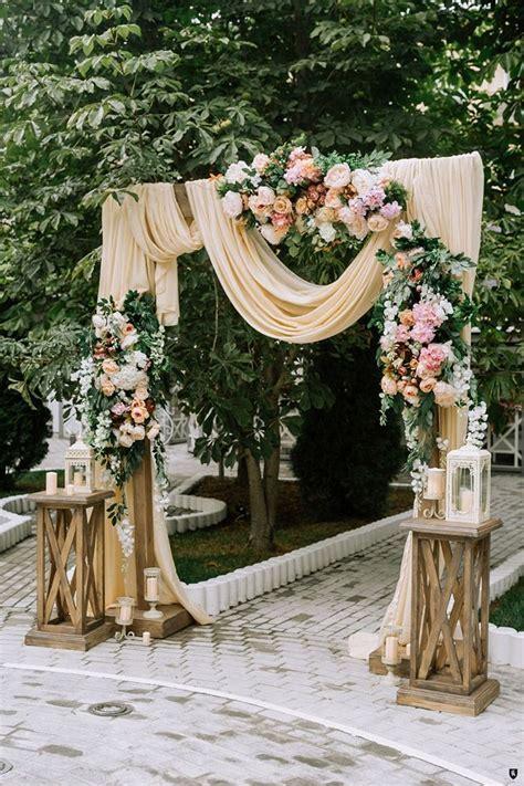 25 Inspirational Wedding Ceremony Arbor & Arch Ideas   for