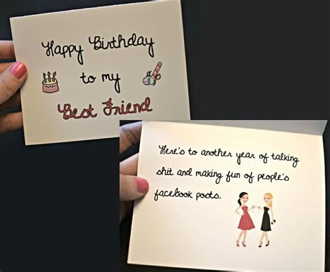Happy Birthday To My Best Friend Card Happy Birthday To My Best Friend Birthday Card Funny