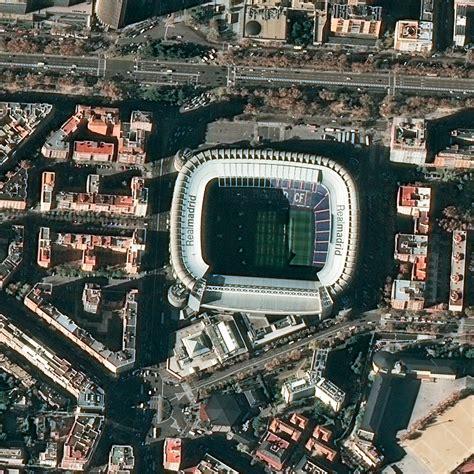 imagenes satelitales pleiades pl 233 iades satellite image santiago bernab 233 u stadium