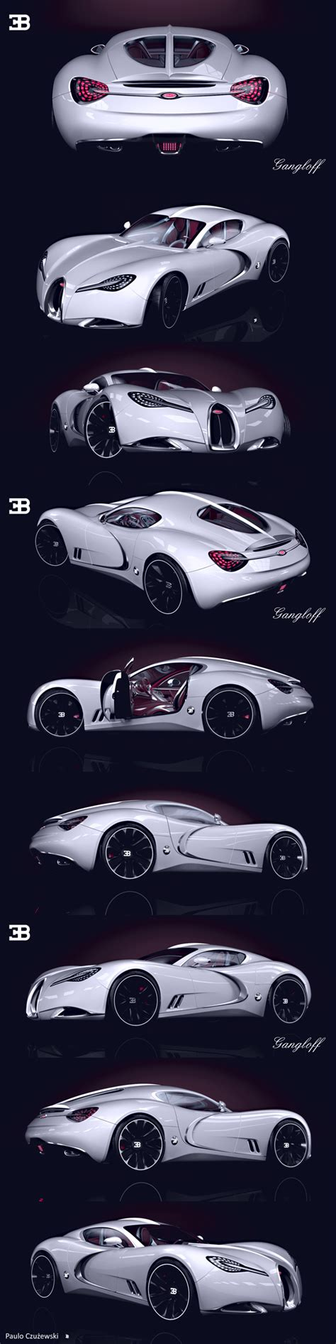 concept bugatti gangloff gangloff bugatti 57 sc by pawel czyzewski magic art world