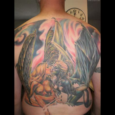 sexy angel tattoo design 1000 ideas about on