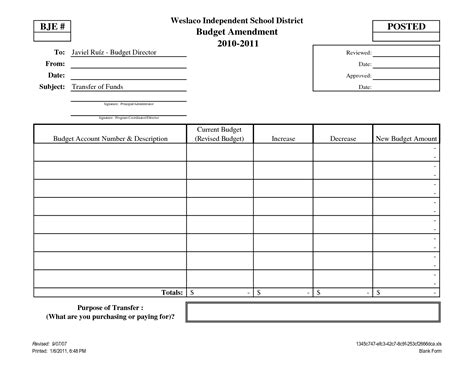 blank forms templates 7 best images of printable personal budget forms free