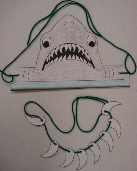hammerhead shark crafts for preschoolers