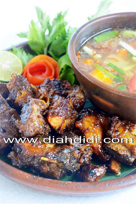 diah didis kitchen  iga bakar spesial indonesian