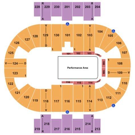 pensacola bay center seating capacity pensacola bay center tickets in pensacola florida seating
