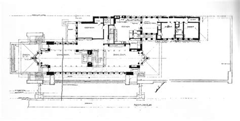 Robie House Floor Plan by Robie House Floor Plan Dimensions Escortsea